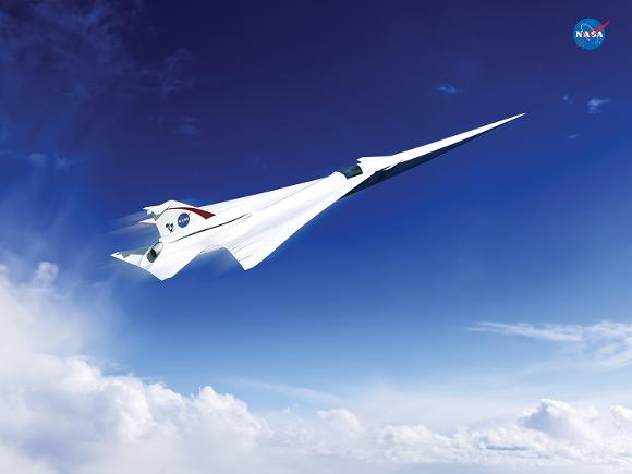 Supersonic technology demonstrator by Lockheed Martin for NASA