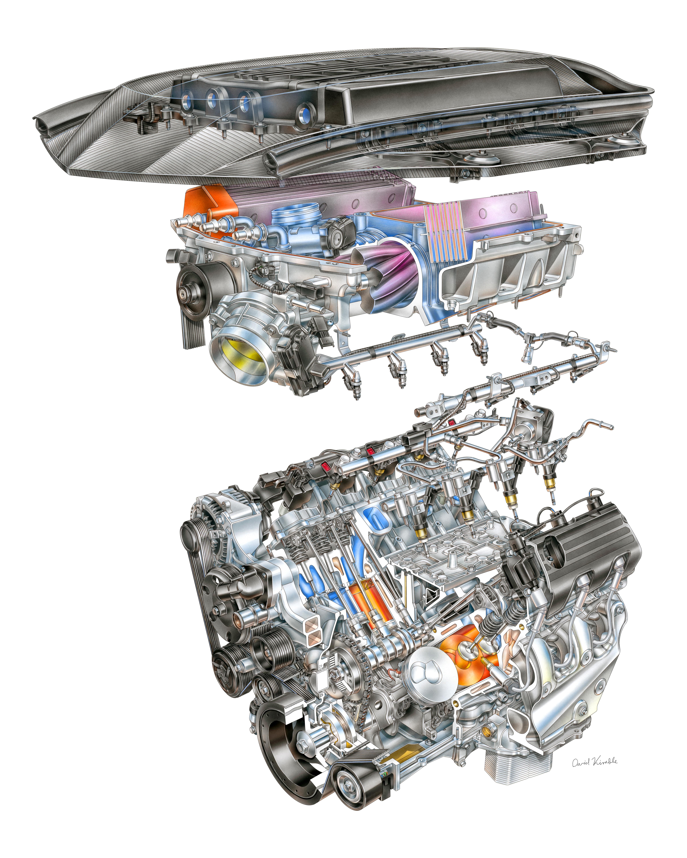 lt5 engine diagram gm 2019 lt5 v8 engineering details  gm 2019 lt5 v8 engineering details