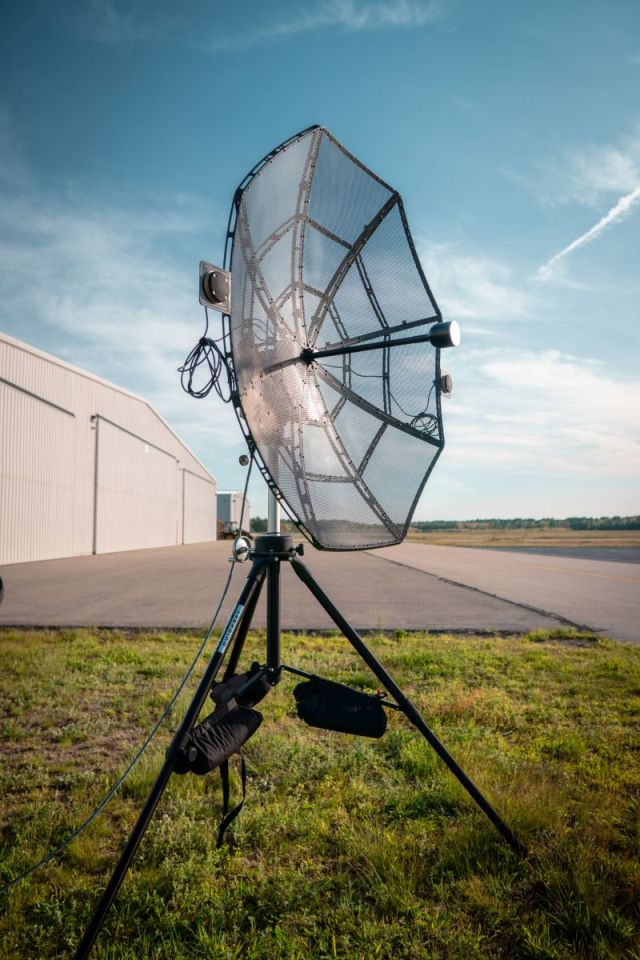 Persistent Systems Auto-Tracking Antenna System adds
