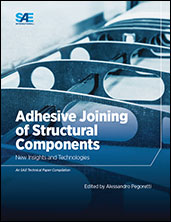 Adhesive joining of structural components will assume an increasingly important role in designing and manufacturing lightweight structures for aerospace platforms. The latest book from SAE International, Adhesive Joining of Structural Components: New Insights and Technologies explores recent advancements in adhesive bonding, used in the manufacture of primary aircraft fuselage and wing structures since 1945.