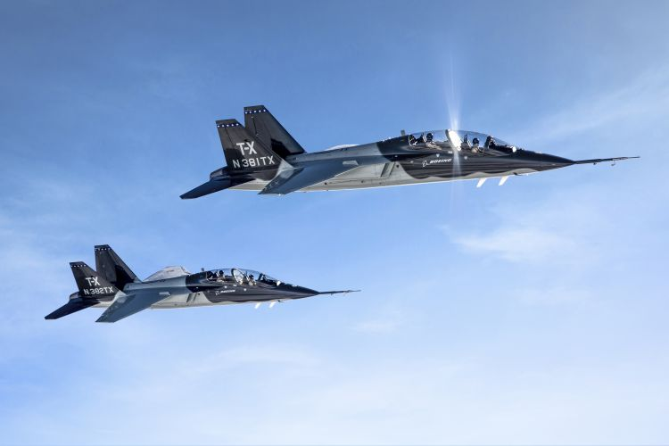 Boeing won the long-running battle to provide a new jet trainer for the US Air Force T-X program. The search for a replacement for the 1960s era Northrop T-38 Talon, which was produced from 1961 in thousands as an advanced pilot trainer and developed alongside the very similar Northrop F-5 Freedom Fighter, has been underway for around two decades.