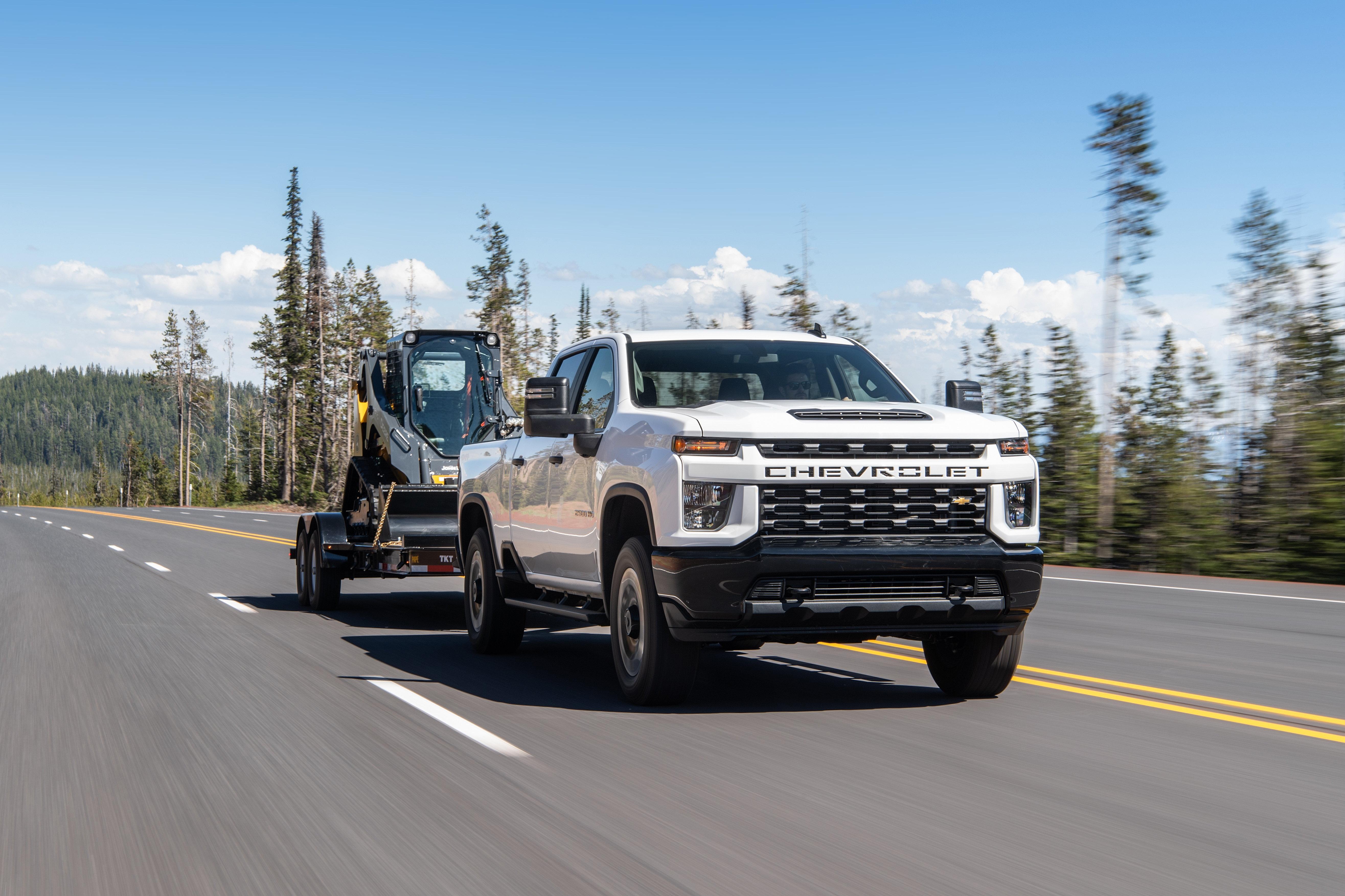 Heavy Capability For Chevy S 2020 Silverado Heavy Duty Pickups