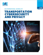 SAE International Journal of Transportation Cybersecurity