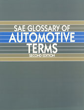 SAE Glossary of Automotive Terms-Second Edition