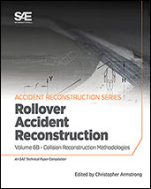 Collision Reconstruction Methodologies Volume 6B: Rollover Accident Reconstruction