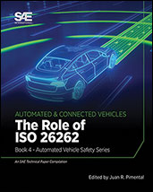 The Role of ISO 26262: Book 4 - Automated Vehicle Safety