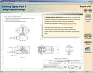 Engineering Drawing Requirements training screenshot