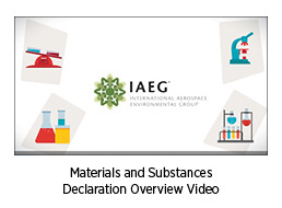Materials and Substances Declaration Overview video