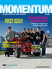 Momentum, the Magazine for Student Members of SAE International 2010-02-01