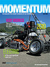 Momentum, the Magazine for Student Members of SAE International 2010-03-01