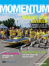 Momentum, the Magazine for Student Members of SAE International 2010-04-01