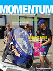 Momentum, the Magazine for Student Members of SAE International 2010-09-01