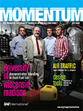 Momentum, the Magazine for Student Members of SAE International 2011-02-25