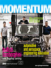 Momentum, the Magazine for Student Members of SAE International 2011-03-31