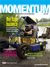 Momentum, the Magazine for Student Members of SAE International 2012-01-28