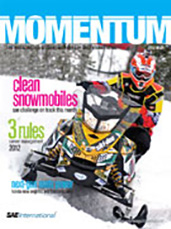 Momentum, the Magazing for Student Members of SAE International 2012-02-28