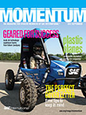 Momentum, the Magazine for Student Members of SAE International 2012-08-31