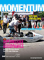 Momentum, the Magazine for Student Members of SAE International 2012-09-28