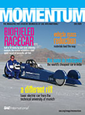 Momentum, the Magazine for Student Members of SAE International 2012-10-31