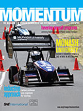 Momentum, the Magazine for Student Members of SAE International 2013-04-01