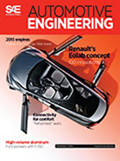Automotive Engineering:  November 4, 2014
