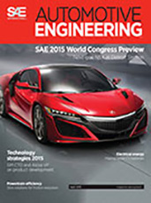 Automotive Engineering:  April 7, 2015