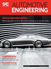 Automotive Engineering:  November 3, 2015