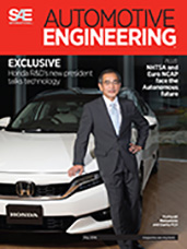 Automotive Engineering:  May 5, 2016