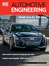 Automotive Engineering:  November 2017