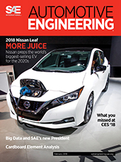 Automotive Engineering:  February 2018