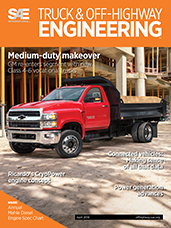 SAE Truck & Off-Highway Engineering:  April 2018