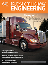 SAE Truck & Off-Highway Engineering:  October 2018