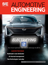Automotive Engineering:  March 2020