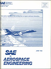 SAE in Aerospace Engineering 1982-06-01