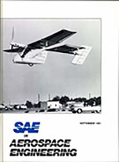 SAE in Aerospace Engineering 1981-09-01