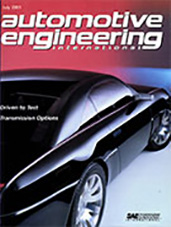 Automotive Engineering International 2001-07-01