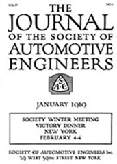 Journal of the S.A.E. 1919-01-01