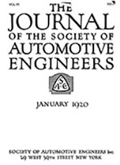 Journal of the S.A.E 1920-01-01