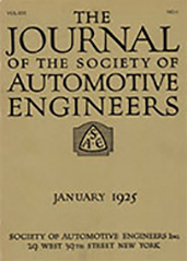 Journal of the S.A.E. 1925-01-01
