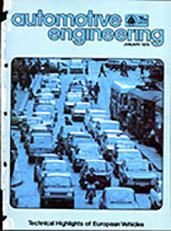 Automotive Engineering 1979-01-01