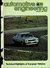 Automotive Engineering 1980-01-01