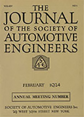 Journal of the S.A.E. 1924-02-01
