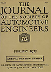 Journal of the S.A.E. 1925-02-01