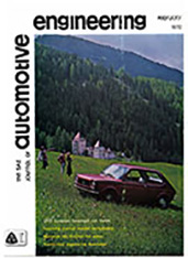 The S.A.E. Journal of Automotive Engineering 1972-02-01