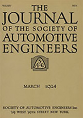 Journal of the S.A.E. 1924-03-01