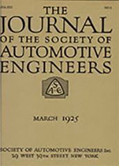 Journal of the S.A.E. 1925-03-01