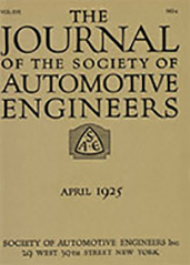 Journal of the S.A.E. 1925-04-01