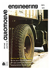 The S.A.E. Journal of Automotive Engineering 1972-04-01