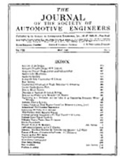 Journal of the S.A.E. 1921-05-01