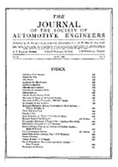 Journal of the S.A.E. 1922-05-01